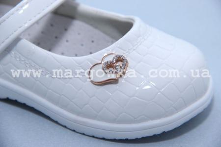 Туфли CBiT.T A27-3 для девочки белые (A)