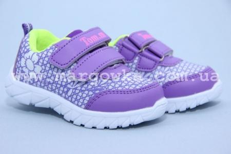 Кроссовки Tom.M C-T10-89-H для девочки фиолетовые МАЛОМЕРЯТ! (G)