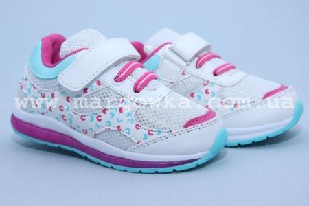 Кроссовки Tom.M C-T10-96-D для девочки белые (A)