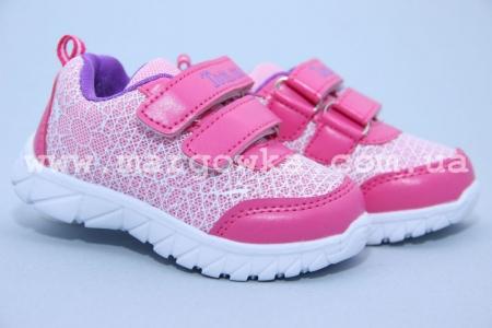 Кроссовки Tom.M C-T10-89-B для девочки розовые МАЛОМЕРЯТ! (A)