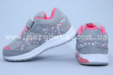 Кроссовки Tom.M C-T10-96-E для девочки серые (G)