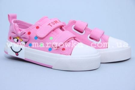 Кеды Tom.M C-T04-24-F для девочки розовые (G)