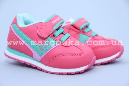 Кроссовки Fieerinni A076-5 для девочки розовые (G)
