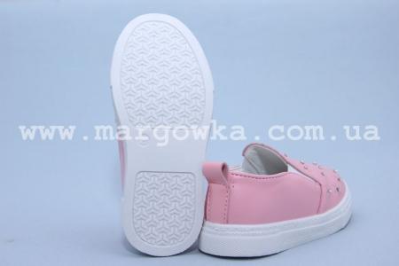 Слипоны Boyang (Tom.M) C-06-13-C для девочки розовые. МАЛОМЕРЯТ! (G)